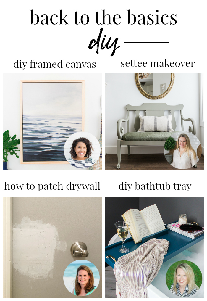 Back to the Basics DIY Projects