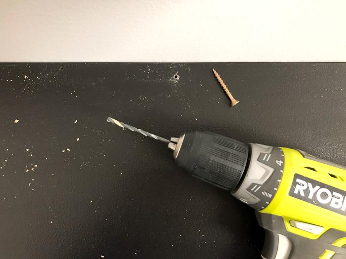 DIY Wall Mount Vanity Table