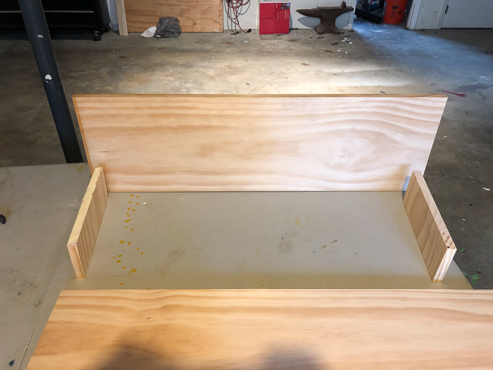 DIY Vanity Table with Storage