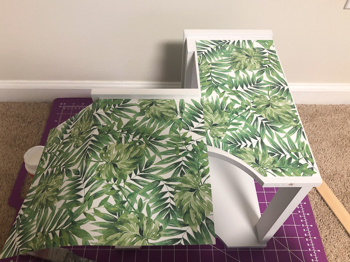 Colorful Step Stool Makeover