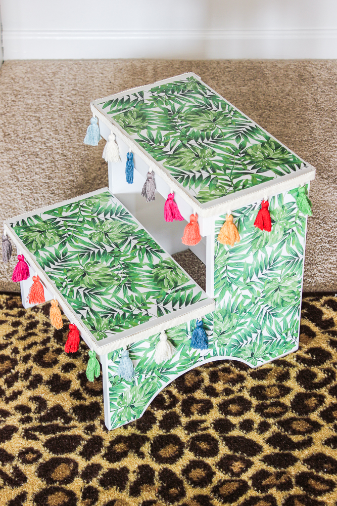 Simple Step Stool Makeover
