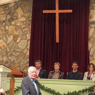 Jimmy Carter Sunday School Trip