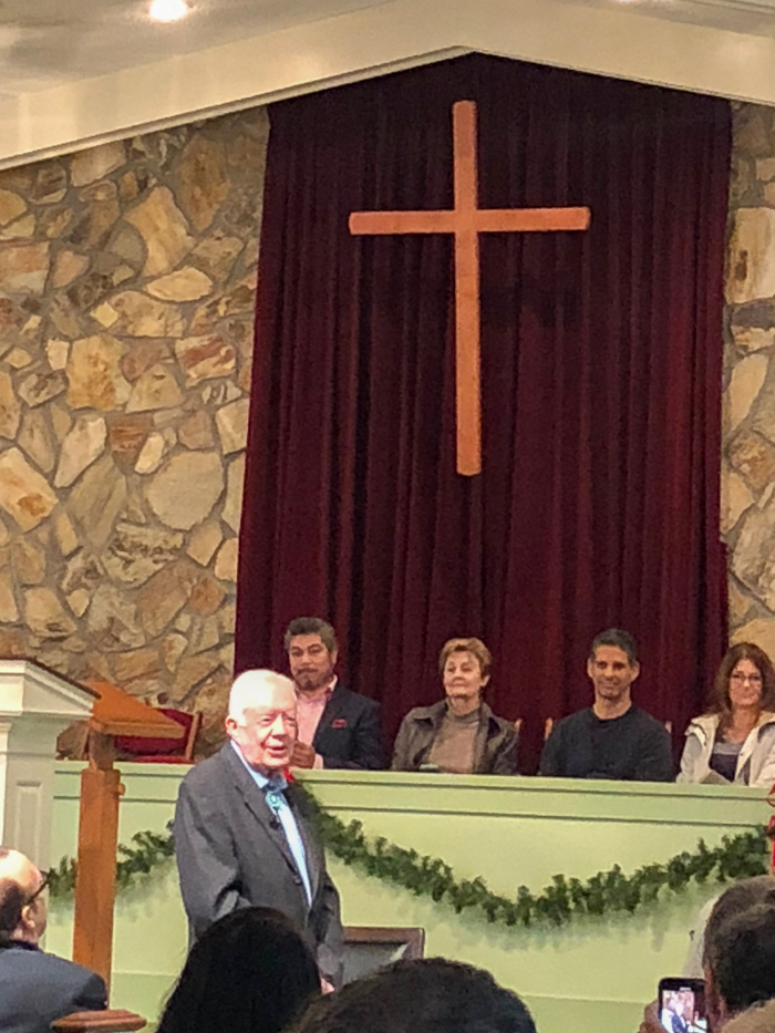 Maranatha Baptist Church - Jimmy Carter Sunday school Class