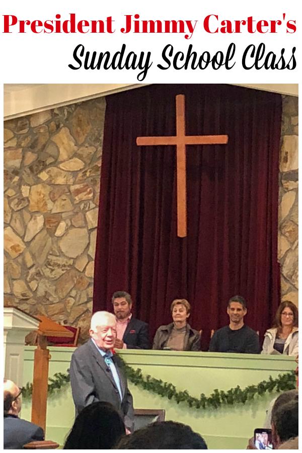 President Jimmy Carter's Sunday school Class