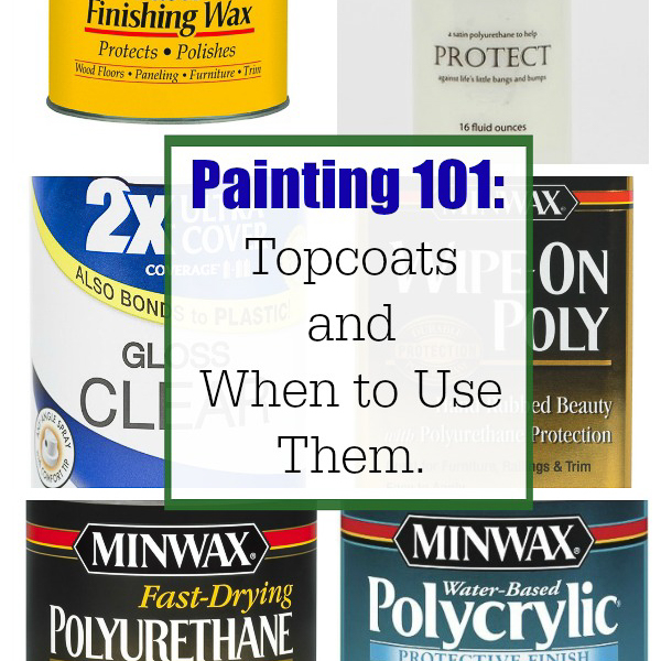 Types of furniture topcoats and when to use them.