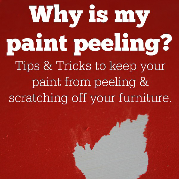Why Paint is Peeling Off Your Furniture and How to Stop It