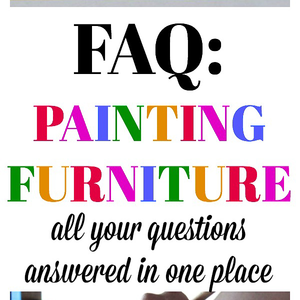 FAQ: Painting Furniture