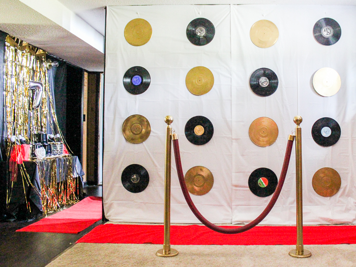 Red Carpet Party Backdrop