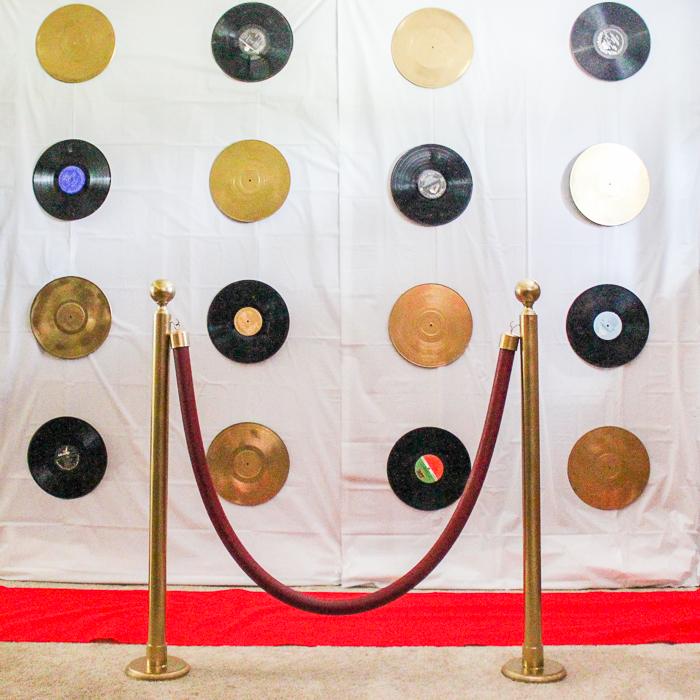 DIY Red Carpet Backdrop