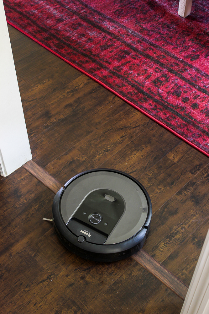 iRobot Roomba - going over thresholds