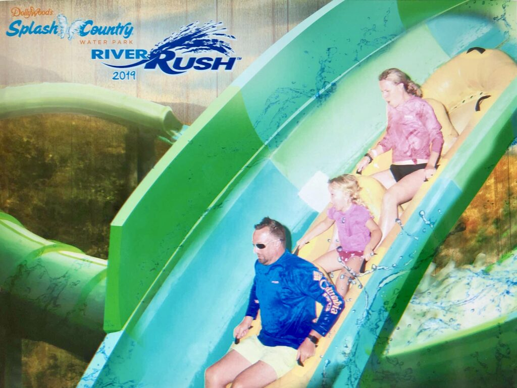 River Rush Water Coaster at Splash Country