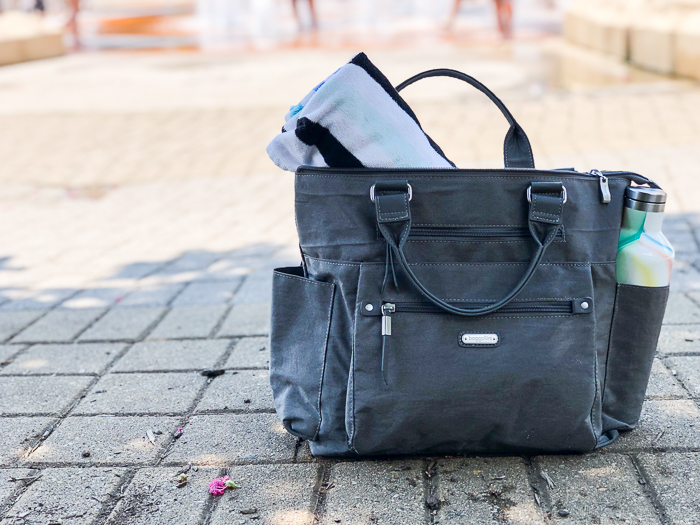 3-in-1 Convertible Backpack - goes from backpack to tote to crossbody in one click.