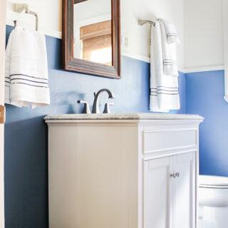 Cover Damaged Bathroom Walls