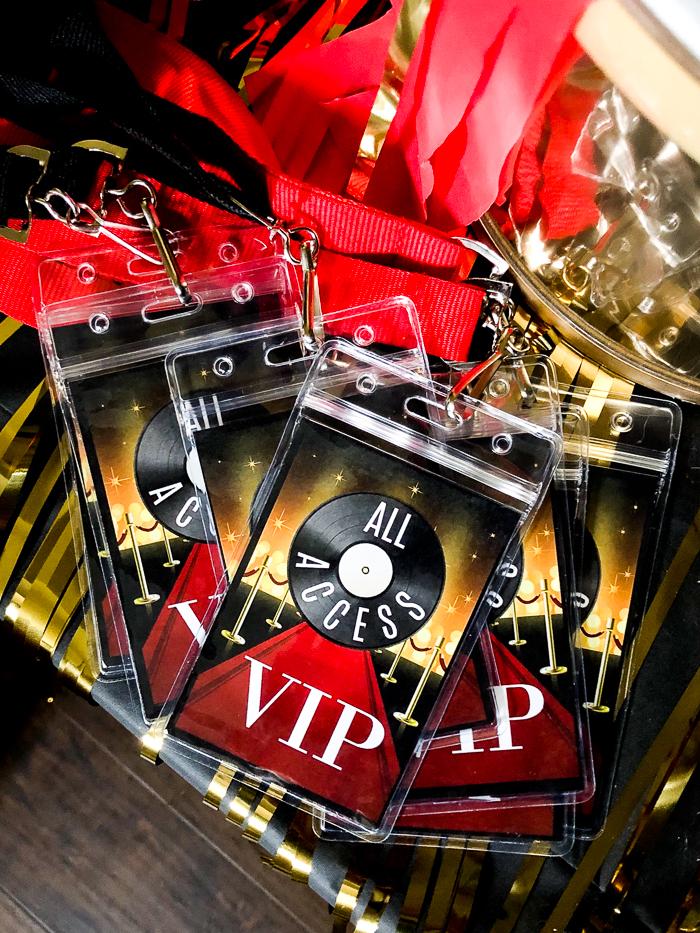 Printable VIP Badge