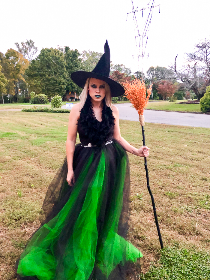 DIY Witch Costume