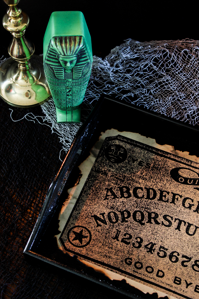 Ouija Board Decor DIY