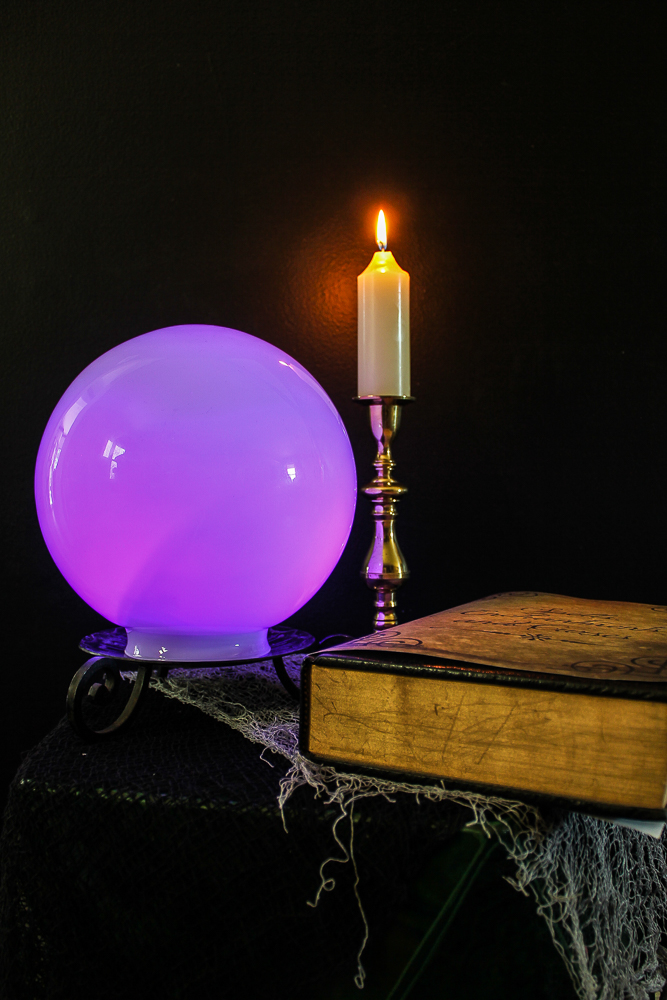 diy crystal ball