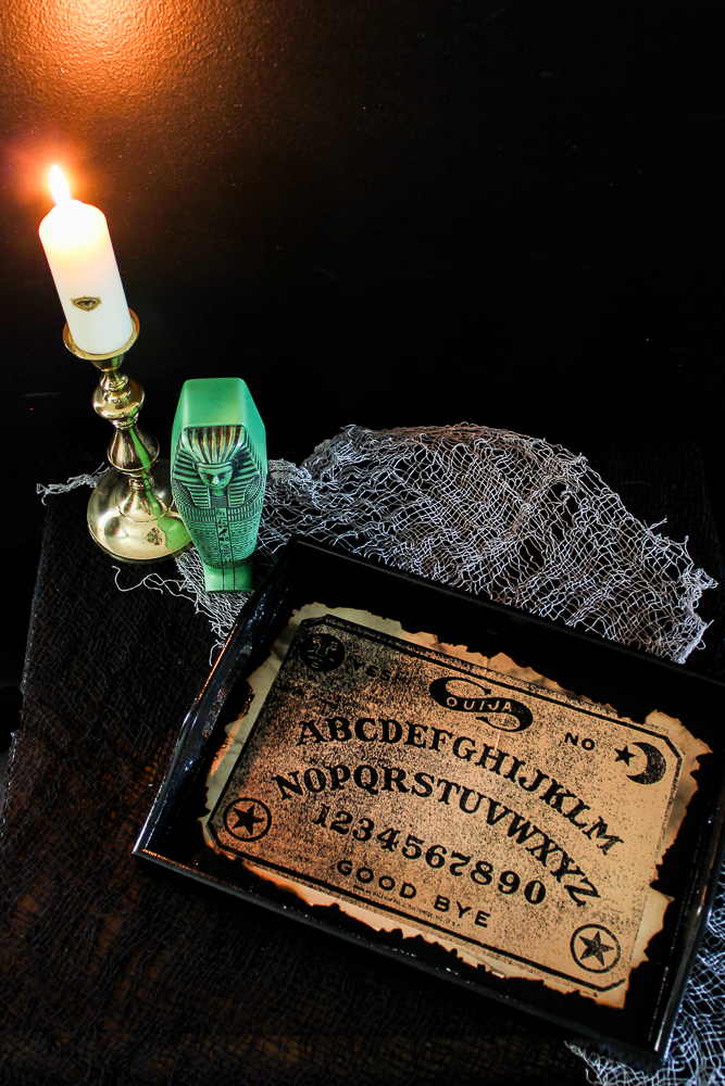 Ouija Board Halloween Serving Tray