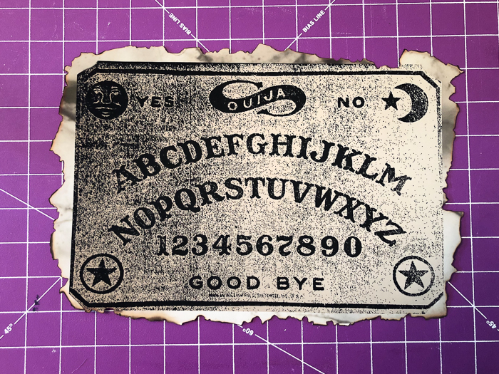 Ouija Board Printable