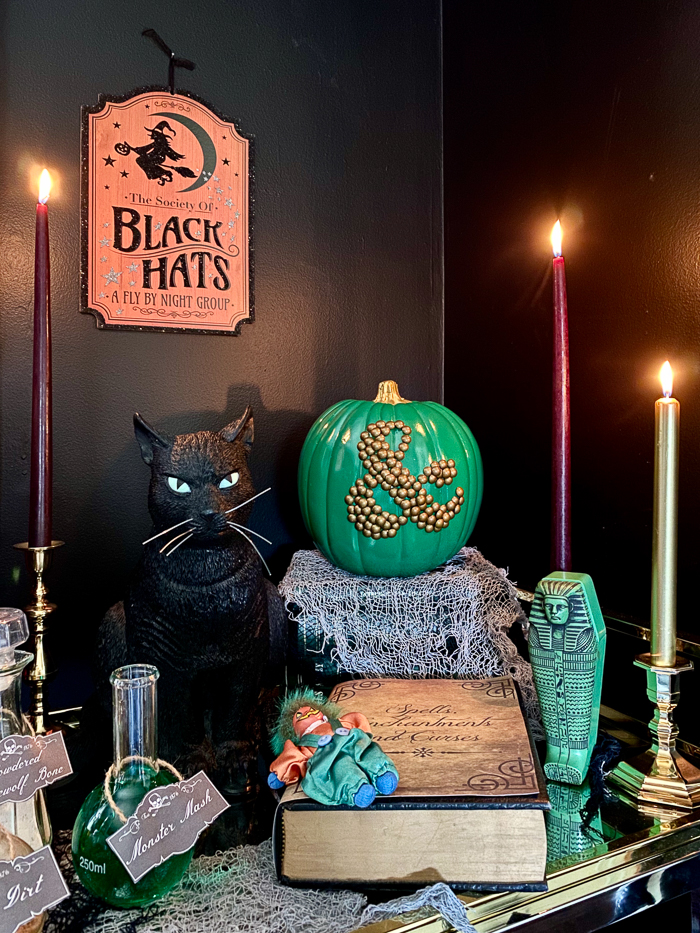 Halloween Decoration Ideas using Candles