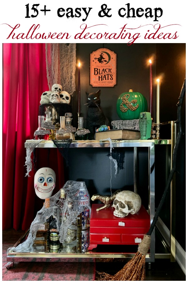 Easy and Cheap Halloween Decorating Ideas