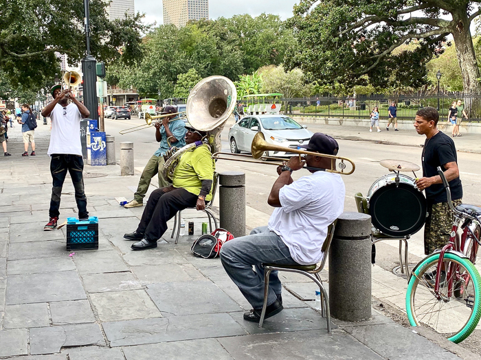 New Orleans 3 Day Itinerary - Street Jazz Band