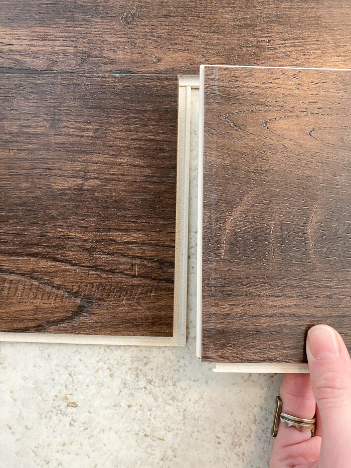 Installing click together vinyl plank flooring from Select Surfaces