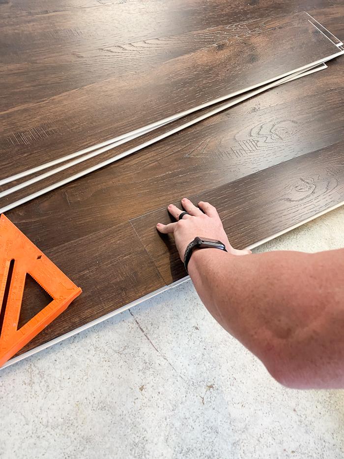 How to Install Vinyl Plank Flooring over Sheet Linoleum