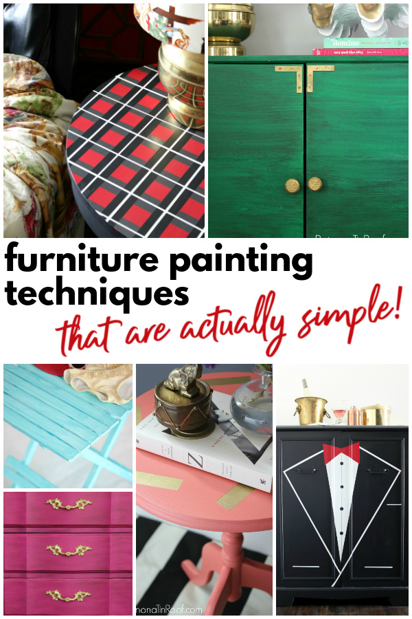 Simple Furniture Painting Ideas