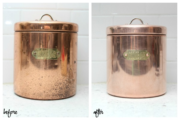 Cleaning projects for when you're stuck at home - restoring copper.