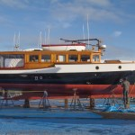 Port Townsend, yacht, Comrade, Boat Haven Marina, On the Hard Se