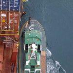 Pilot comes aboard–Ensenada Mexico-KSullivan