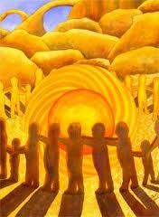 Goddesses stand united in a healing purpose and it shall be done.