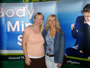 I met Candia at a Body,Mind,Spirit Expo in Pasadena ten years ago.  This was taken at the Portland one.