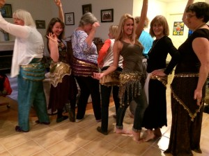 Bringing some fun into our healing circle of amazing healers on the Olympic Peninsula!