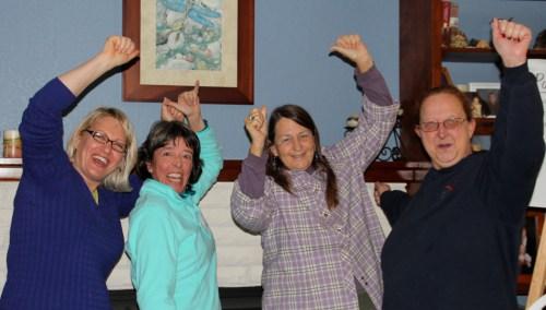 Congratulations Celeste, Glenda and Renee!!