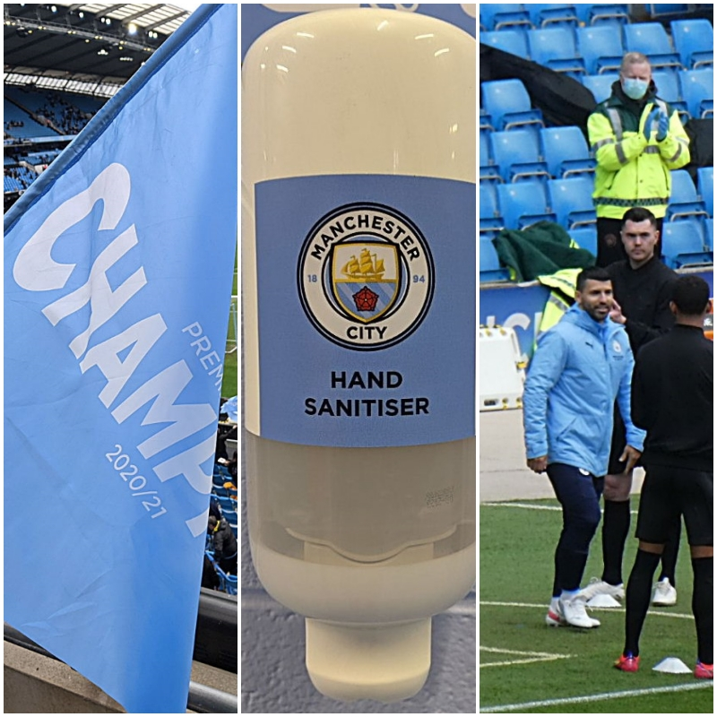 Good to be back – Etihad days with Manchester City and farewell to Aguero