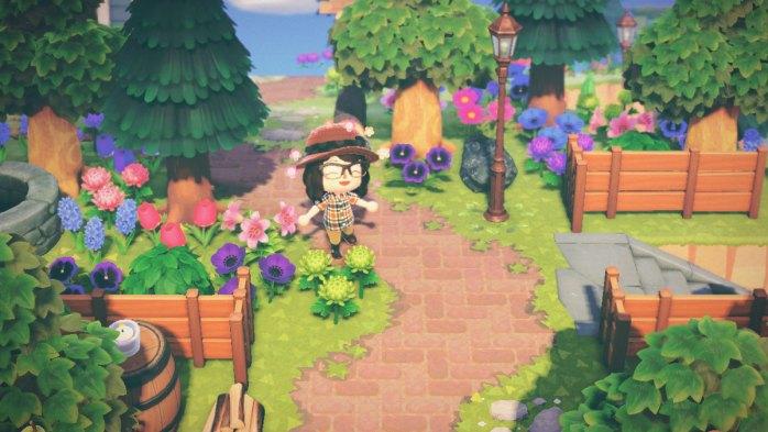 Screenshot of my Animal Crossing: New Horizons town, Evermore