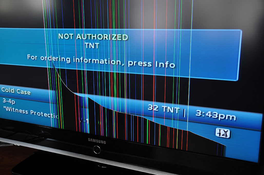 LCD TV Repair   RainyDayMagazine