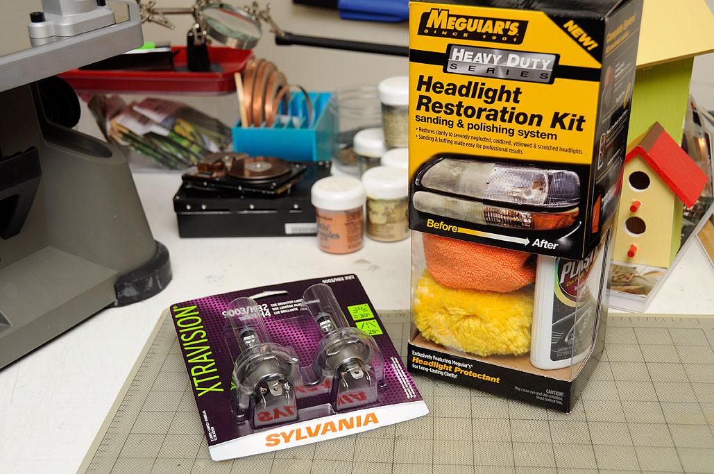 Headlight Maintenance | RainyDayMagazine