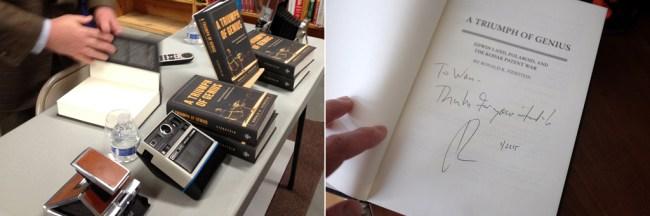 Polaroid_SigningBook