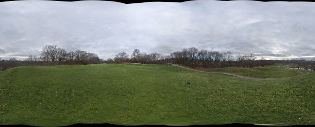 George Wright Public Golf Course Panorama