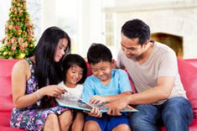 happy-family-hold-story-book-portrait-holding-read-together-home-christmas-day-45768180