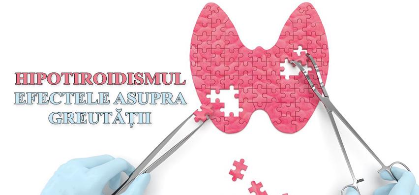 Hipotiroidismul și efectele sale asupra greutății