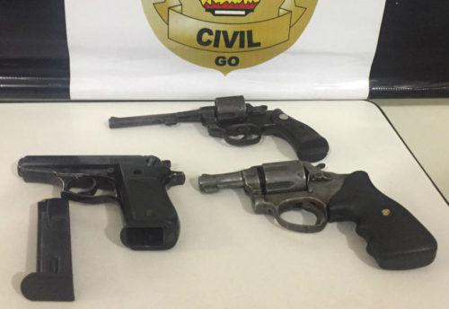 Suspeitos de homicídio motivado por suposta traição são presos em Goiatuba