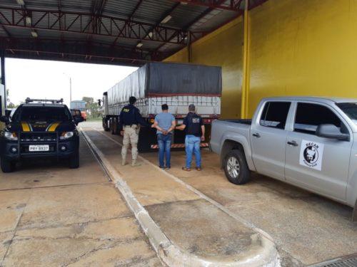Operação Fumus Malus: Decar e PRF apreendem 400 mil carteiras de cigarro contrabandeadas do Paraguai