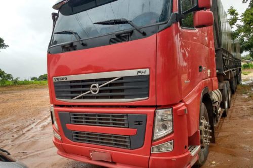 Caminhão roubado no Tocantins é recuperado em Uruana