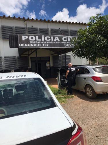Polícia Civil prende três suspeitos de matar motoboy em Cidade Ocidental