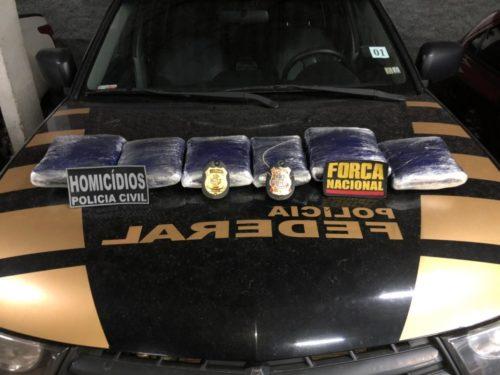 Polícia Civil e Força Nacional apreendem drogas no Aeroporto de Goiânia