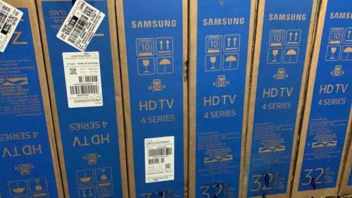 Decar, PRF e PM recuperam carga de televisores roubados